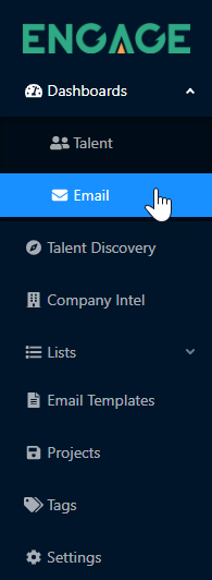 Accessing Email Dashboard