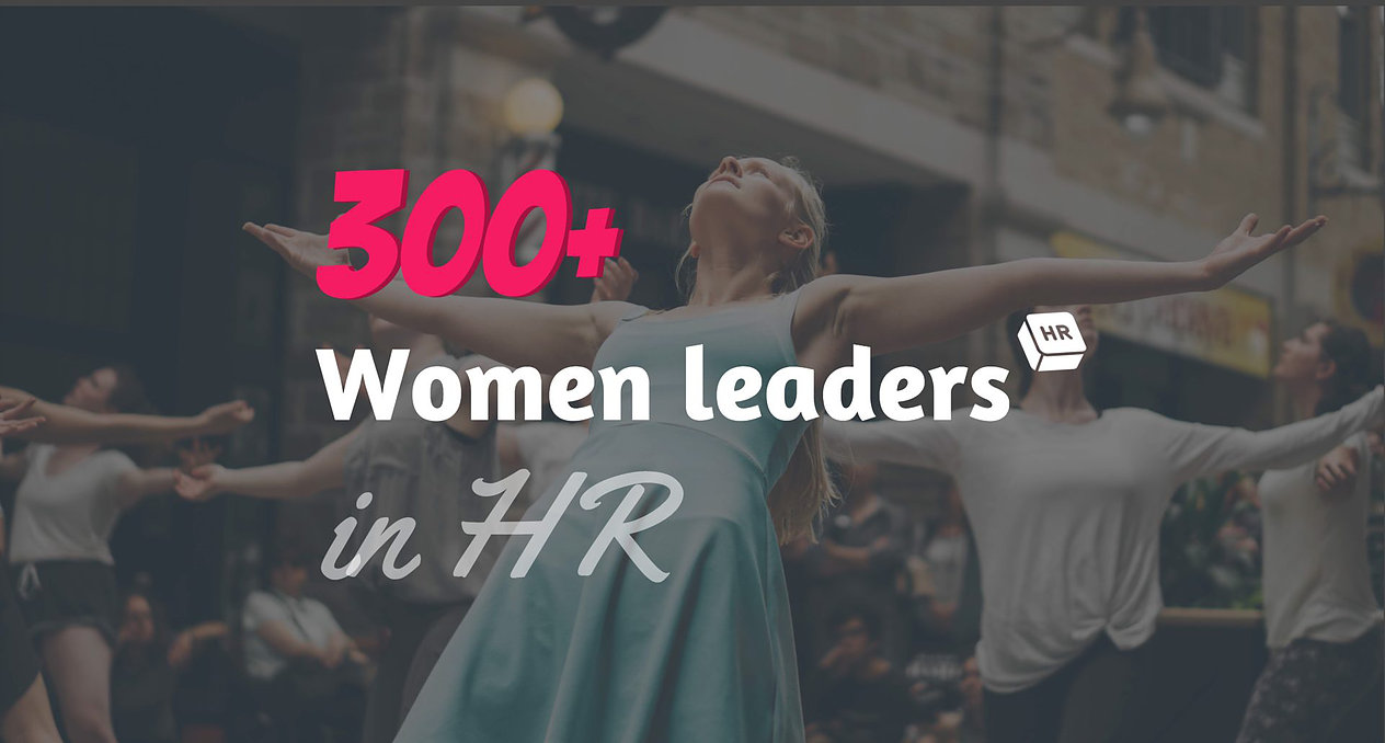 300+ Women Leaders in HR : Our own Kristin Lewis named on the list