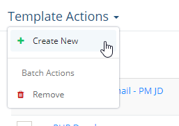 Template Actions2
