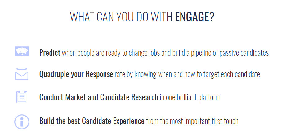 What can you do with ENGAGE 1
